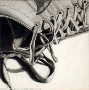 Laced Shoe by ckoffler
