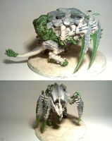Tyranids: Trygon Carnifex into Tervigon conversion by TheBl4ckCat