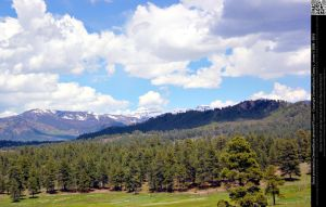 Colorado Mountains Landscape by DamselStock
