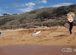 America Fails at surfing .:GIF:. by PrincessCelestia908