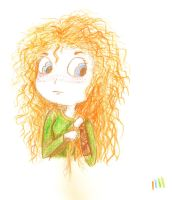 Merida Drawing by hello-noble