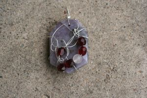 Grieving Garnets by Dellessanna