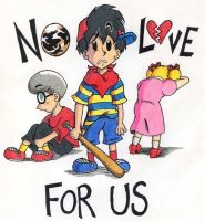No Love For Us by kenisu3000