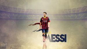 Messi by vengen2