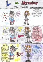 Death Note: L vs Hermione...xD by dan-nippon13