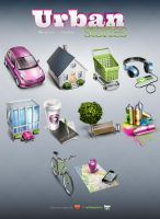 Urban Stories - 10 free icons by LazyCrazy