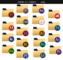 Adobe CC folders by lahcenmo