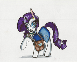 Rarity by TinyUnicornFarm