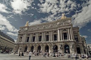 Paris Opera House by BlackCarrionRose