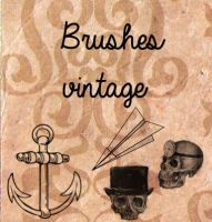 Nuevos Brush Vintage by solochiquitita