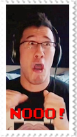 Markiplier - Nooo! Stamp by SteffieNeko