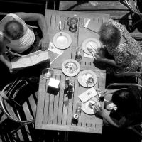 table for 3 by rorshach13