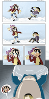 IPL: Snowball Fight! by WafflezNFries