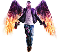 Saints Row: Gat Out Of Hell - Johny Gat Render by youknowwho77