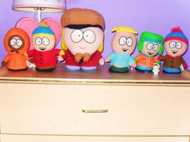My South Park plush collection by splover22