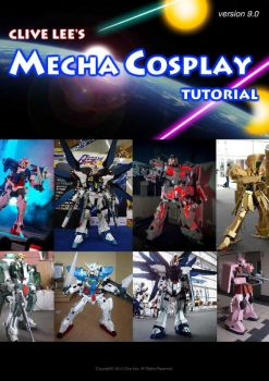 Gundam/mecha cosplay tutorial - Cover page by Clivelee