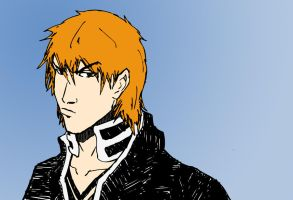 3/23/2012: Ichigo in his 20's by SoDrawnOut
