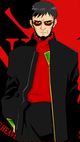 Gendo Ikari of Nerv by omegasigma
