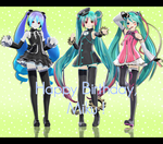 .:Happy Birthday Miku !! + Limited Download OVER:. by Crystallyna