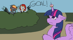 [Sketch] Goal by hylidia