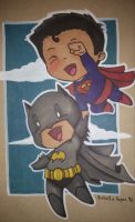 Super friends! by Sew-What