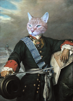 Peter The Great Cat by TodayInCatHistory