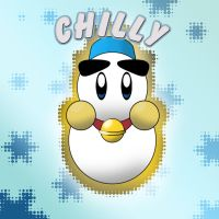 Kirby of the Stars: Chilly by DreamlandMessenger
