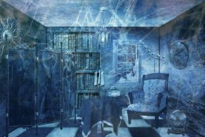 Blue CreepY RooM by NellySaangeL
