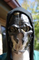 In-game accurate Corvo Attano mask replica by sandercohen13