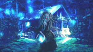 Ghost Girl Wallpaper HD by Arcana-chan-HTH