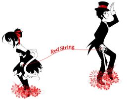 -  Red String  - by TsuriKato