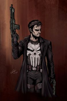 Punisher by OniChild
