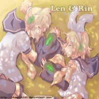 Len and Rin by chamoth143