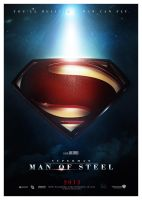 MAN of STEEL SHIELD 2013 by Medusone