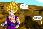 Super Saiyan 2 Majin Teen Gohan by Gogetunks
