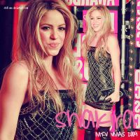MTV  - Shakira by stefi-one