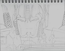 Angry Prime Sketch by PrimeEmily135