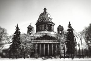 St. Isaac's Cathedral by almaclone