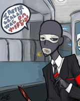 Spy Sappin my Art by DrJekyllMrHyde