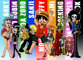 Color One Piece by Agui-chan