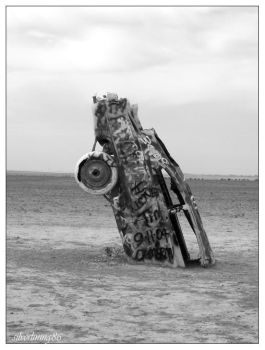 Cadillac Ranch by silverlining86