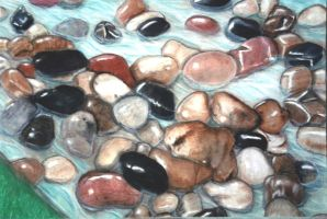 Rocks and Water by JanetR2014