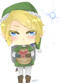 Merry Christmas Link by Xylerz