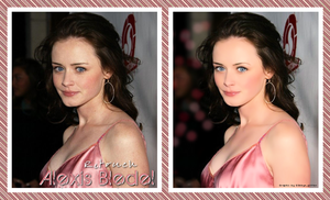 Retouch Alexis Bledel by d3bbyeglitter