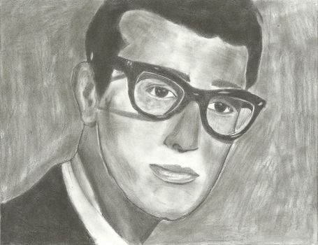 Buddy Holly by 6the6metal6head6