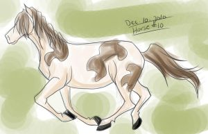 Horse a Day - Dec 10 by liliy