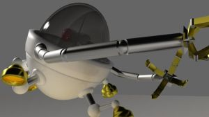 3d project: Robot round two by Marazzo