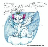 Our Thoughts and Prayers Are With You by KoudoawaiaVortex