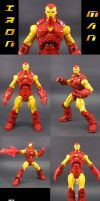 The Great Feet of Iron Man by Jin-Saotome