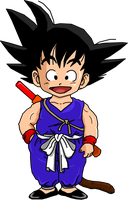 Kid Goku by dbzataricommunity
